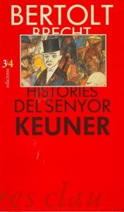 Portada - Bertolt Brecht - Històries Keuner