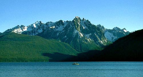 Llac dels Salmons, Redfish Lake, a Idaho (EUA)